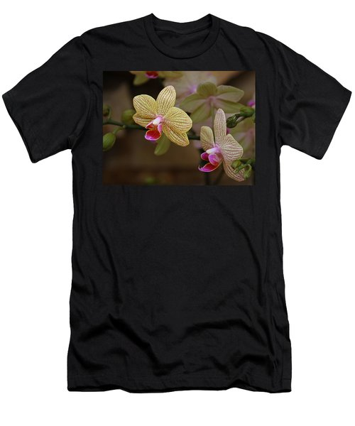 Opulent Orchids Men's T-Shirt (Athletic Fit)