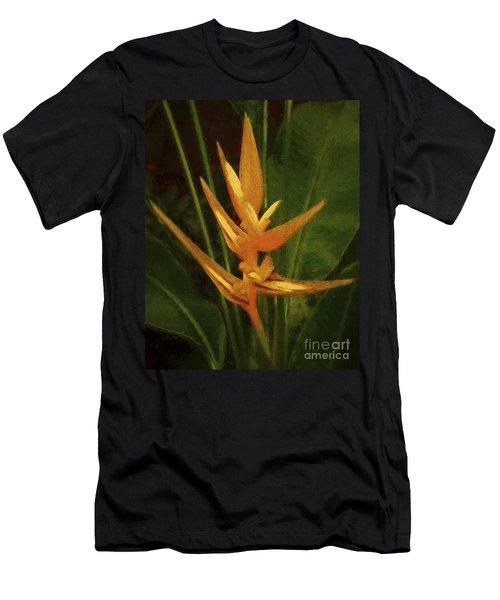 Orange Art Men's T-Shirt (Athletic Fit)