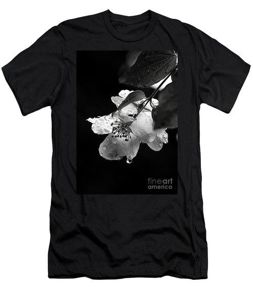 Orange Blossom Men's T-Shirt (Slim Fit) by Elaine Hunter