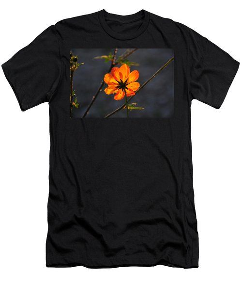 Orange Cosmo Men's T-Shirt (Athletic Fit)