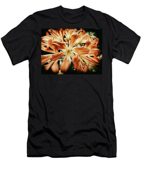 Orange Crush Men's T-Shirt (Slim Fit) by Karen Stahlros