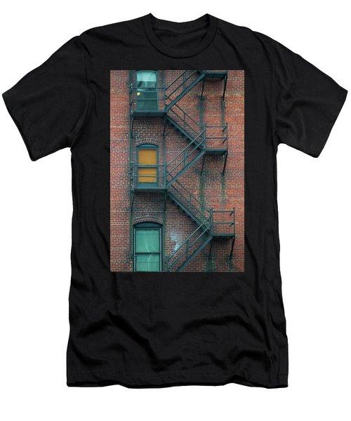 Orange Door Men's T-Shirt (Athletic Fit)