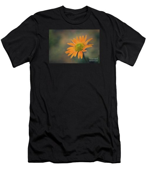 Orange Echinacea Dreams Men's T-Shirt (Athletic Fit)