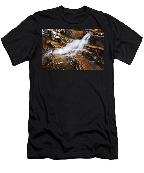 Orange Falls Men's T-Shirt (Athletic Fit)