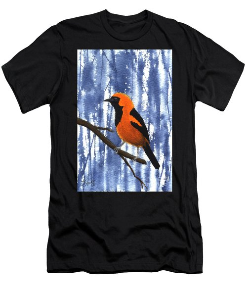 Orange-headed Oriole Men's T-Shirt (Athletic Fit)