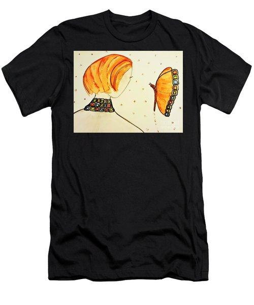 Orange Match Men's T-Shirt (Athletic Fit)