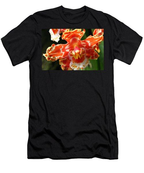 Orange Orchid Men's T-Shirt (Athletic Fit)