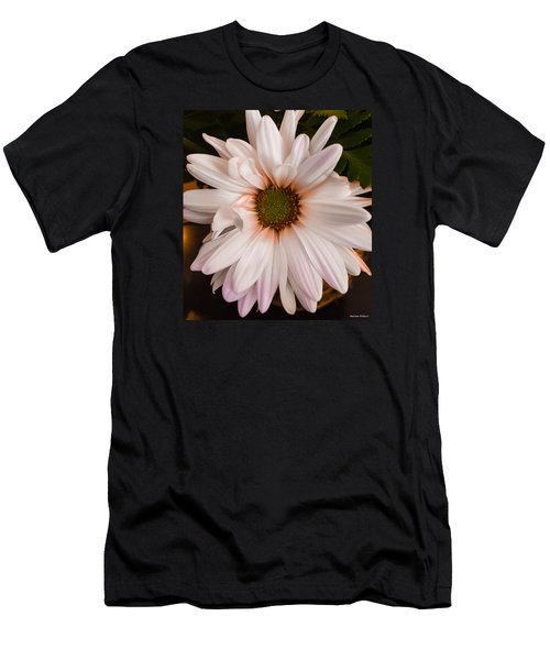 Orange Pastel Daisy Men's T-Shirt (Athletic Fit)