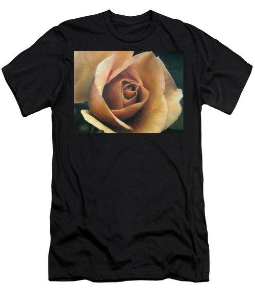 Orange Rose Men's T-Shirt (Athletic Fit)