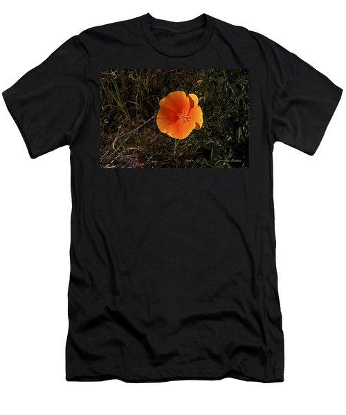 Orange Signed Men's T-Shirt (Athletic Fit)