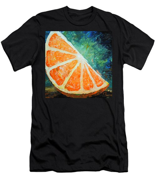 Orange Slice Men's T-Shirt (Athletic Fit)