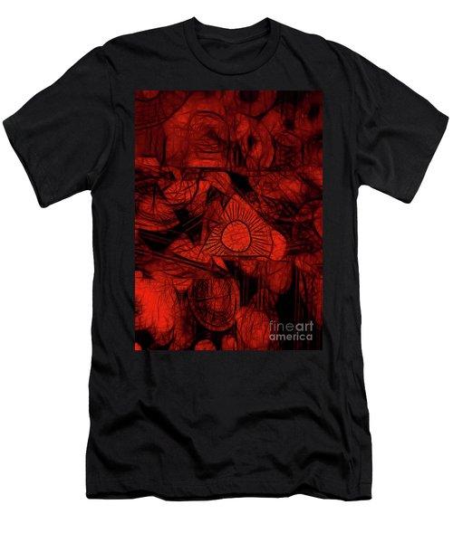 Orange Slices Men's T-Shirt (Athletic Fit)