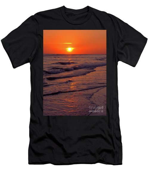Orange Sunset Men's T-Shirt (Athletic Fit)