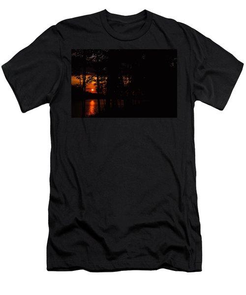 Orange Sunset Men's T-Shirt (Athletic Fit)