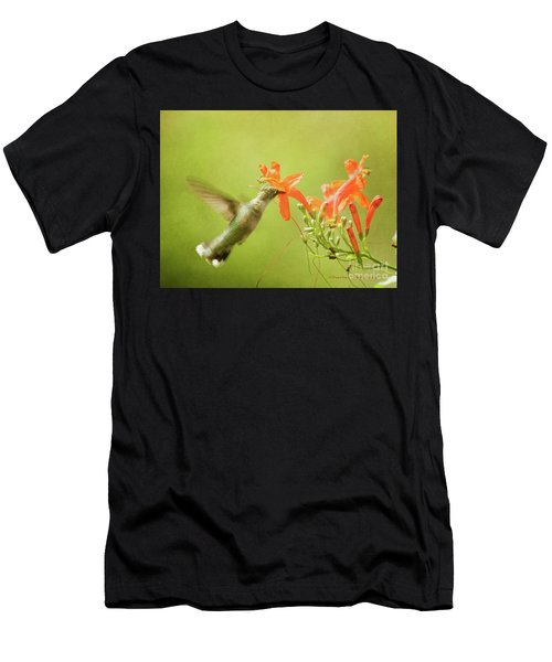 Orange Treat Men's T-Shirt (Athletic Fit)
