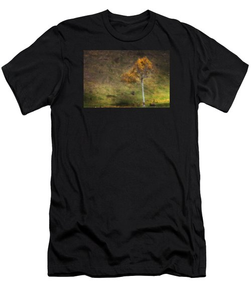 Men's T-Shirt (Athletic Fit) featuring the photograph Orange Tree by Ken Barrett