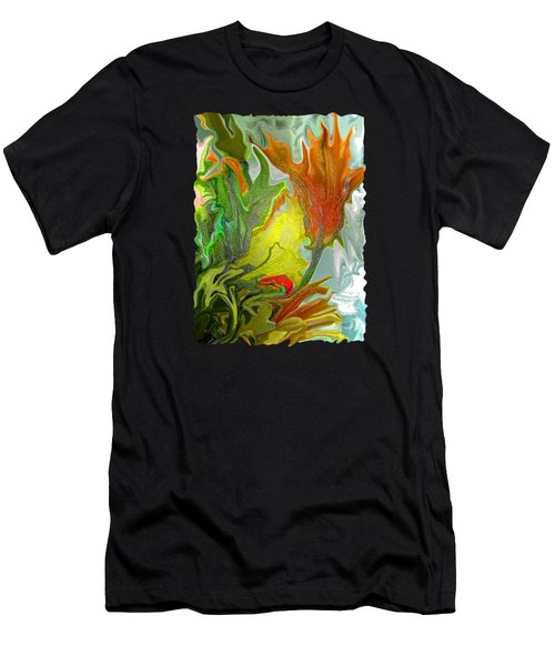 Orange Tulip Men's T-Shirt (Athletic Fit)