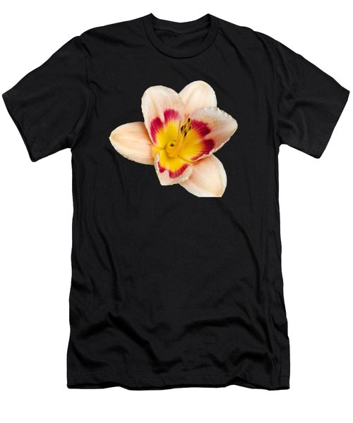 Orange Yellow Lilies Men's T-Shirt (Athletic Fit)