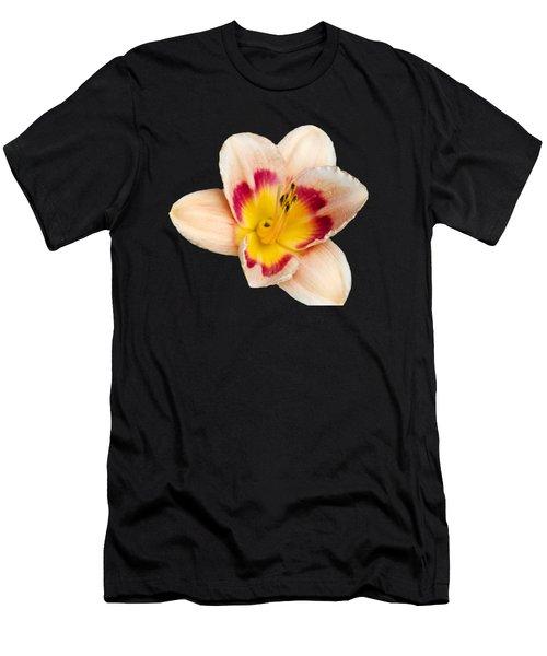 Orange Daylilies Men's T-Shirt (Athletic Fit)