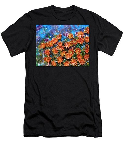 Amazing Orange Men's T-Shirt (Athletic Fit)