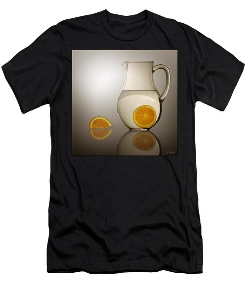 Oranges And Water Pitcher Men's T-Shirt (Athletic Fit)
