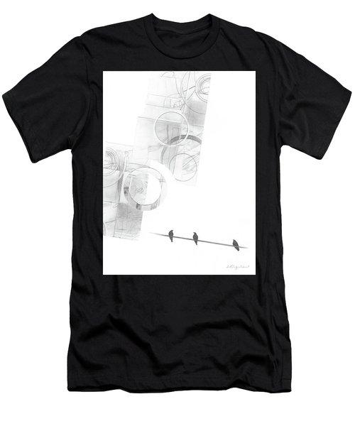 Orbit No. 4 Men's T-Shirt (Athletic Fit)