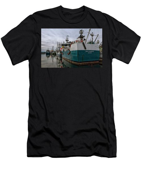 Men's T-Shirt (Slim Fit) featuring the photograph Orca Warrior by Randy Hall