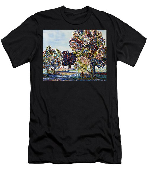 Orchard Men's T-Shirt (Slim Fit) by Erika Pochybova