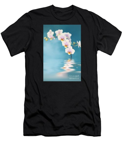 Orchid Dreams Men's T-Shirt (Athletic Fit)