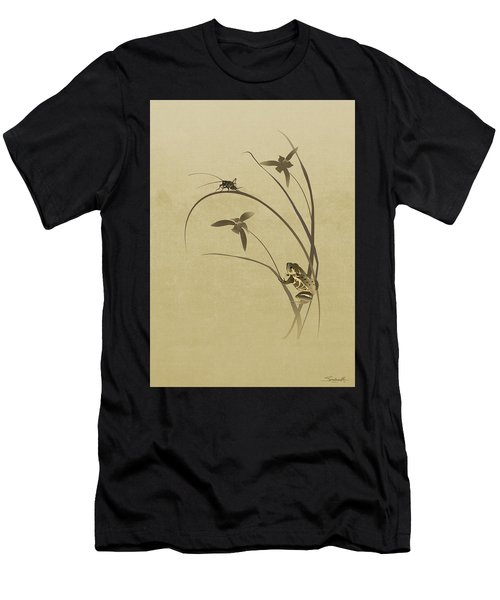 Orchid Sonata Men's T-Shirt (Athletic Fit)