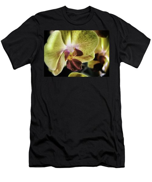 Orchid With A Tongue Men's T-Shirt (Athletic Fit)