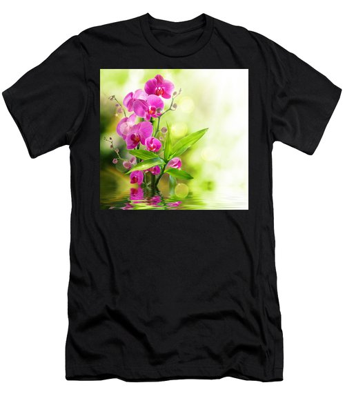 Orchidaceae Men's T-Shirt (Athletic Fit)