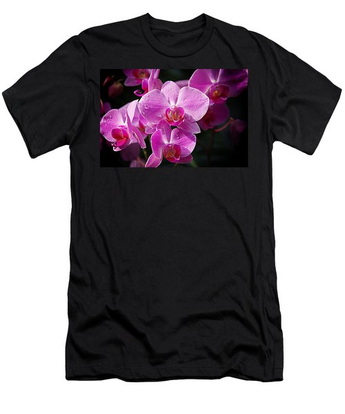 Orchids 4 Men's T-Shirt (Athletic Fit)