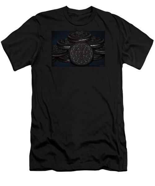Oreo Cookies Men's T-Shirt (Slim Fit) by Rob Hans