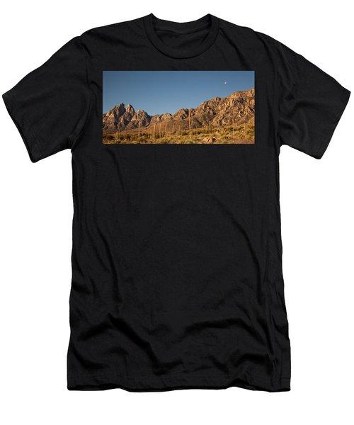 Organ Mountans At Sunrise-3 Men's T-Shirt (Athletic Fit)