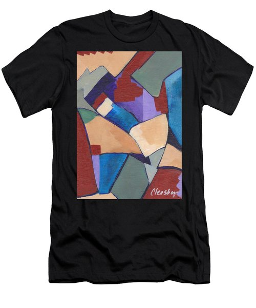 Organic Abstract Series II Men's T-Shirt (Athletic Fit)