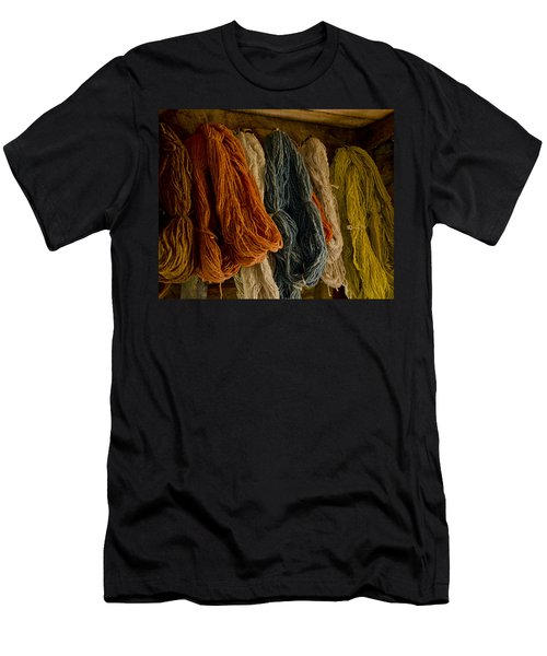 Organic Yarn And Natural Dyes Men's T-Shirt (Athletic Fit)
