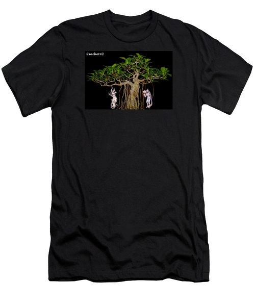 Oriental Bonsai Gods Men's T-Shirt (Athletic Fit)