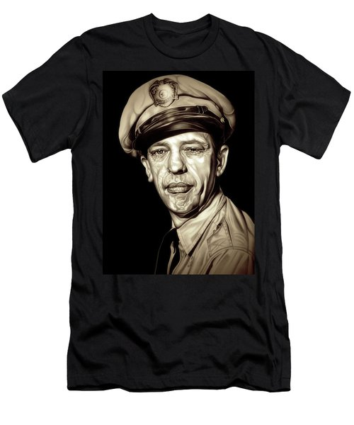 Original Barney Fife Men's T-Shirt (Slim Fit) by Fred Larucci