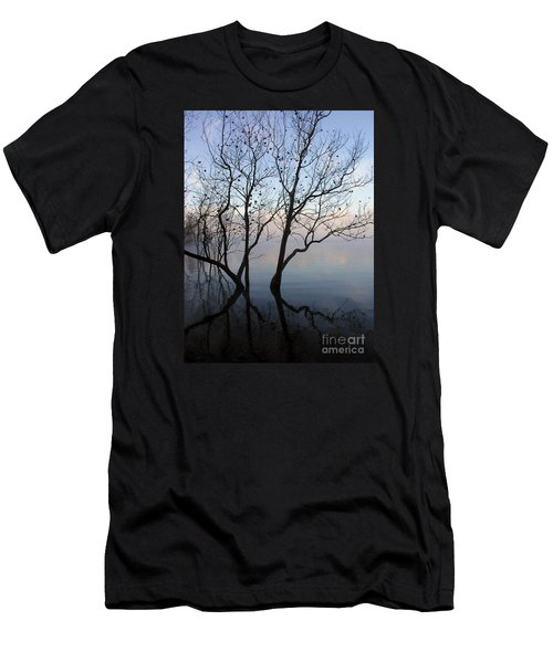 Men's T-Shirt (Slim Fit) featuring the photograph Original Dancing Tree by Paula Guttilla
