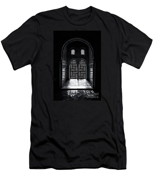 Ornate Alhambra Window Men's T-Shirt (Athletic Fit)