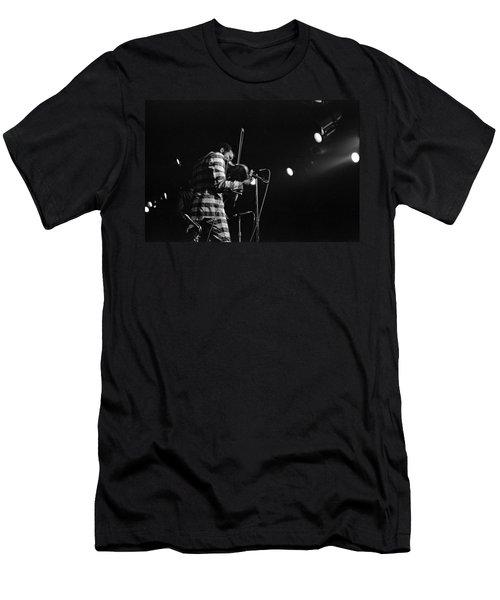 Ornette Coleman On Violin Men's T-Shirt (Athletic Fit)