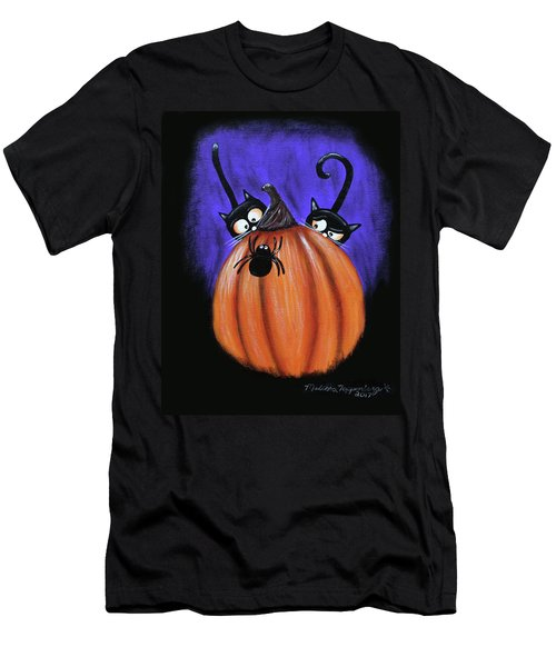 Oscar And Matilda - A Spider Oh Heck No Men's T-Shirt (Athletic Fit)