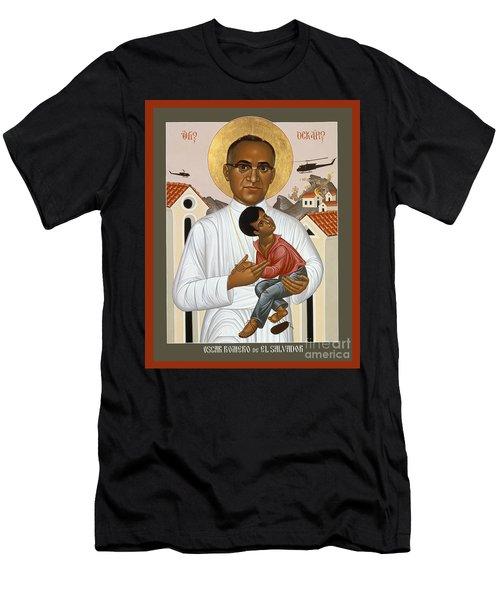 St. Oscar Romero Of El Salvado - Rlosr Men's T-Shirt (Athletic Fit)