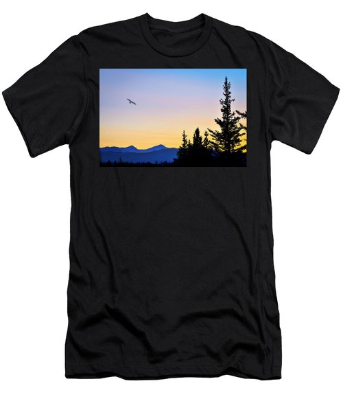 Osprey Against The Sunset Men's T-Shirt (Athletic Fit)