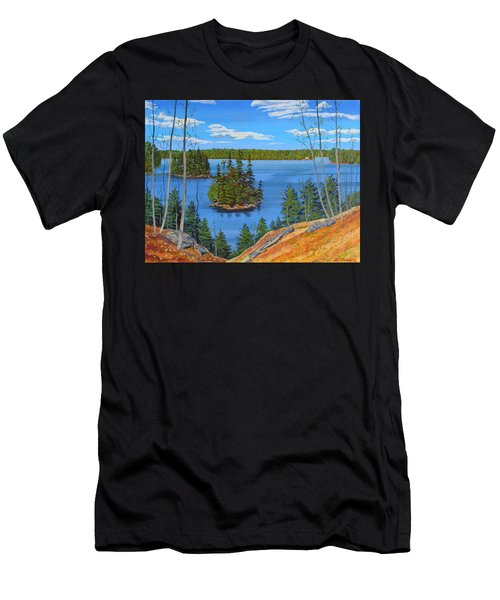 Osprey Island Men's T-Shirt (Athletic Fit)