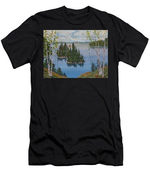 Osprey Island Study Men's T-Shirt (Athletic Fit)