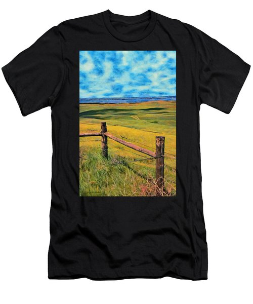 Other Side Of The Fence Men's T-Shirt (Athletic Fit)