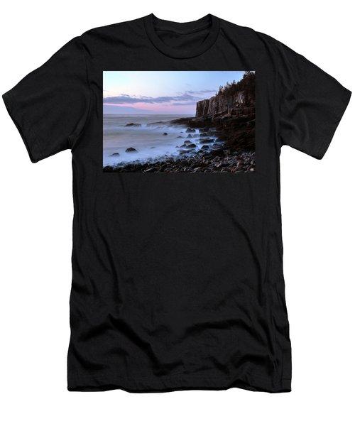 Otter Cliff Awash Men's T-Shirt (Athletic Fit)