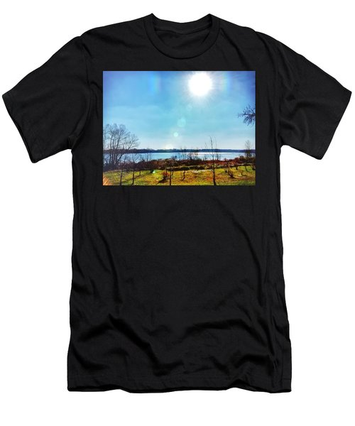 Otter Point Creek Men's T-Shirt (Athletic Fit)
